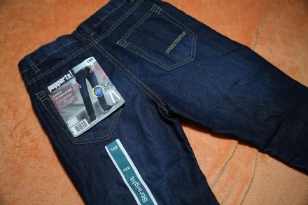 Продам стильные джинсы на мальчика 11-12 лет р.152, Pepperts. Днепр. фото 1