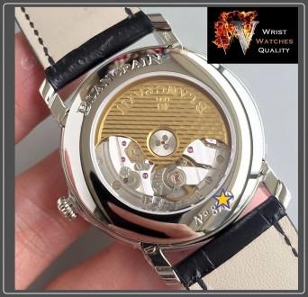 BLANCPAIN - Villeret Quantième Complet Moonphase & Calendar Automatic Grey Dial . Киев, Киевская область. фото 6