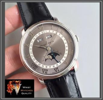 BLANCPAIN - Villeret Quantième Complet Moonphase & Calendar Automatic Grey Dial . Киев, Киевская область. фото 2