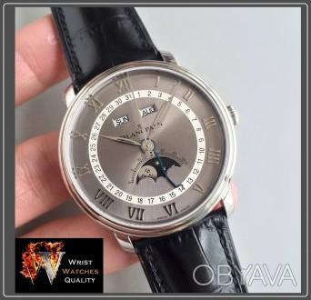 BLANCPAIN - Villeret Quantième Complet Moonphase & Calendar Automatic Grey Dial . Киев, Киевская область. фото 1