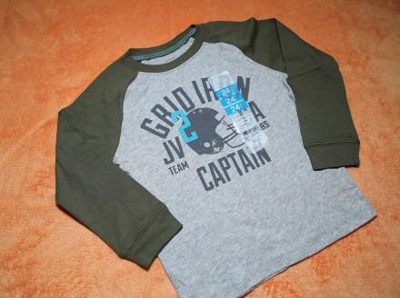 Реглан, лонгслив, футболка Carter's на мальчика 1,5-2 года. Днепр. фото 1