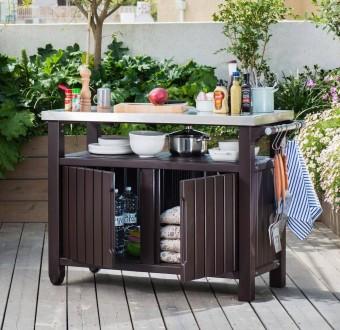 Садовые столики для гриля Keter Unity для дома, кафе и заведений. Мукачево. фото 1