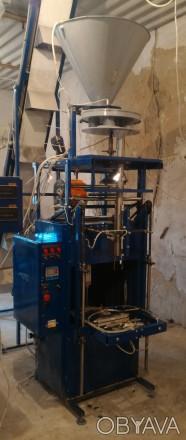 Аппарат фасовочный АФ-35 ОВ с объемным дозатором предназначен для  фасовки и упа. Славянск, Донецкая область. фото 1