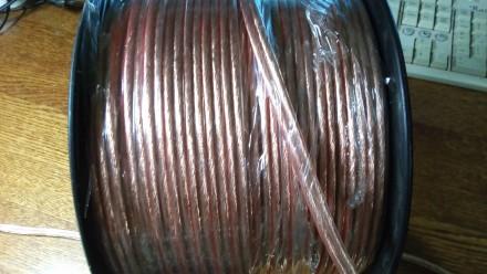 Акустичний кабель 2х4,0 мм2.. Мироновка. фото 1