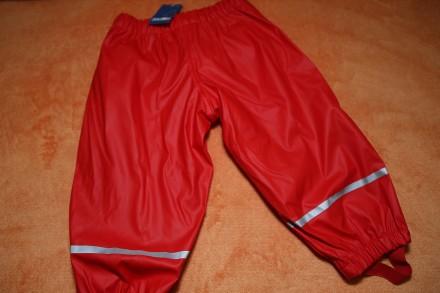 Дождевик, штаны непромокаемые lupilu на 1, 2 года 86, 92. Днепр. фото 1