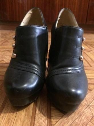 Ботиночки осень-весна 36 размер, черным цветом.. Кривой Рог, Днепропетровская область. фото 5