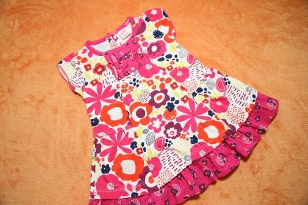 Продам летнее платье, сарафан на девочку 1-1,5 года р.80. Днепр. фото 1