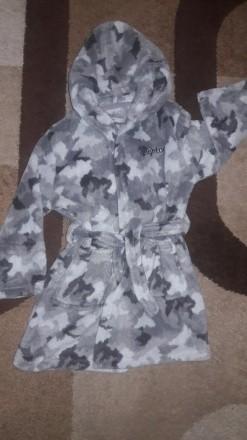 Махровый халат на мальчика 4-5 лет. Полтава. фото 1
