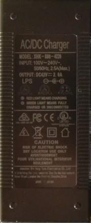 Зарядка зарядное устройство для гироборда гироскутера. Харьков. фото 1