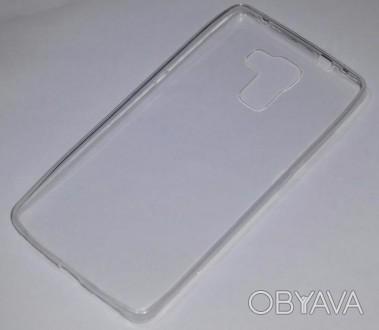 Чехол силиконовый мягкий прозрачный для Huawei Honor 7