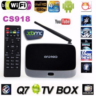 ТВ-приставка Android smart tv 4-ядерный 3D игры Bluttooth 4.0 HDMI. Киев. фото 1