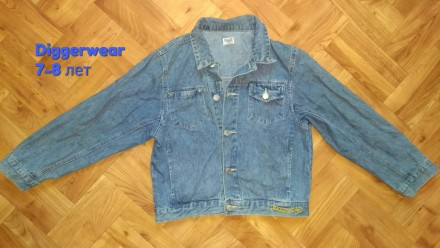 Джинсовка Diggerwear куртка ветровка одежда на мальчика. Чернигов. фото 1