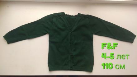Кофта F&F одежда на девочку. Чернігів. фото 1