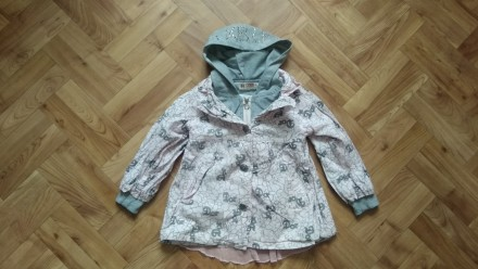 Пальто куртка ветровка одежда на девочку. Чернігів. фото 1