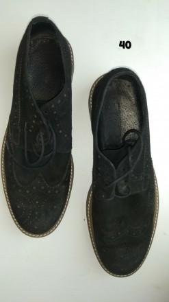 Туфли замш оксфорды ботинки обувь на мальчика. Чернігів. фото 1