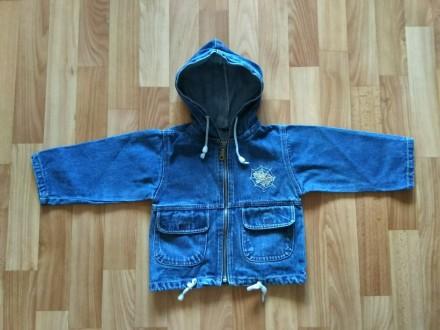 Джинсовка куртка ветровка одежда на мальчика. Чернигов. фото 1