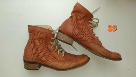 Ботинки кожа полусапожки ботильоны туфли обувь женская. Чернигов. фото 1