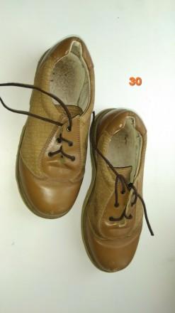Туфли кожа ботинки обувь на мальчика. Чернигов. фото 1