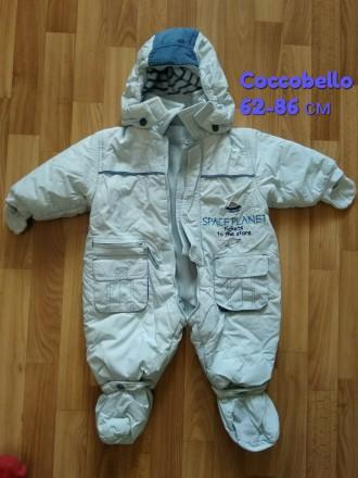 Комбинезон Coccobello демисезонный куртка ветровка человечек. Чернигов. фото 1