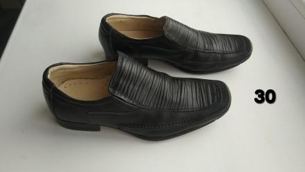 Туфли классические кожа обувь на мальчика. Чернигов. фото 1