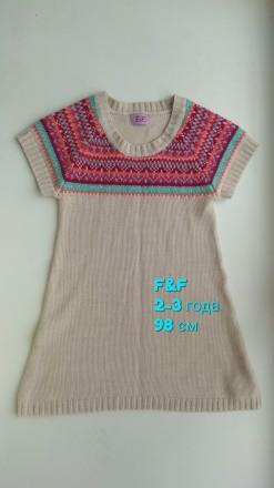 Туника F&F платье сарафан одежда на девочку. Чернігів. фото 1
