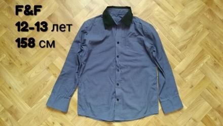 Рубашка F&F одежда на мальчика. Чернигов. фото 1