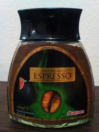 Кава розчинна, кофе растворимый AUCHAN 100 гр. из Испании. Черновцы. фото 1