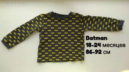 Кофта Batman одежда на мальчика. Чернигов. фото 1
