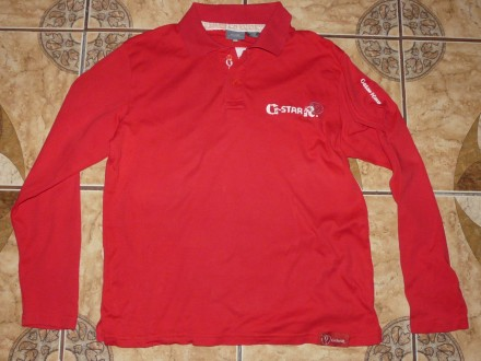 Рубашка поло G-Star Raw 100% хлопок size L/50. Черкассы. фото 1