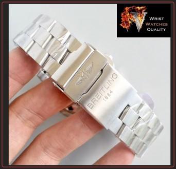 BREITLING - Avenger Seawolf Automatic Chronometer Stainless Steel 45 bracelet. . Киев, Киевская область. фото 10