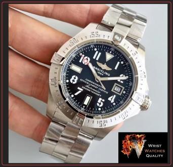 BREITLING - Avenger Seawolf Automatic Chronometer Stainless Steel 45 bracelet. . Киев, Киевская область. фото 4