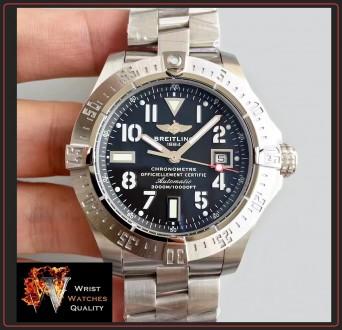 BREITLING - Avenger Seawolf Automatic Chronometer Stainless Steel 45 bracelet. . Киев, Киевская область. фото 3