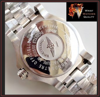 BREITLING - Avenger Seawolf Automatic Chronometer Stainless Steel 45 bracelet. . Киев, Киевская область. фото 6