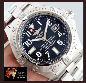 BREITLING - Avenger Seawolf Automatic Chronometer Stainless Steel 45 bracelet. . Киев, Киевская область. фото 8