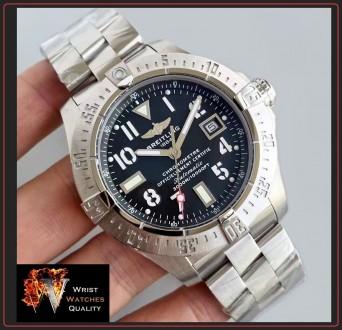 BREITLING - Avenger Seawolf Automatic Chronometer Stainless Steel 45 bracelet. . Киев, Киевская область. фото 2