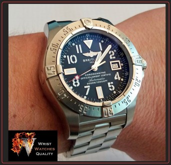 BREITLING - Avenger Seawolf Automatic Chronometer Stainless Steel 45 bracelet. . Киев, Киевская область. фото 11