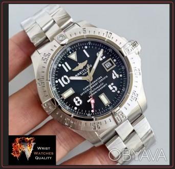 BREITLING - Avenger Seawolf Automatic Chronometer Stainless Steel 45 bracelet. . Киев, Киевская область. фото 1
