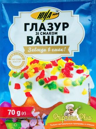Глазурь со вкусом ванили оптом и в розницу. Киев. фото 1