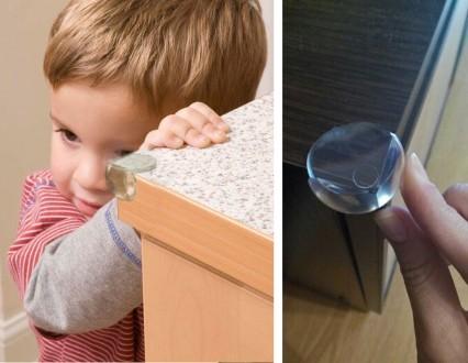 Защита детей от углов, силиконовые уголки, безопасность вашего ребенка. Херсон. фото 1
