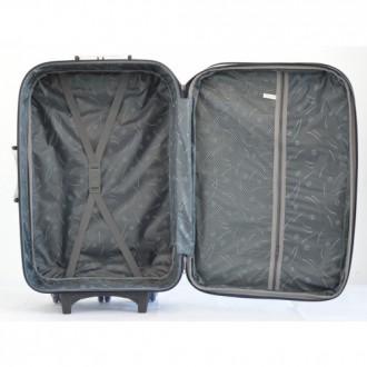 Текстильный чемодан сумка дорожный Bonro набор 3 штуки Цвет: темно-синий клетка. Київ, Киевская область. фото 3