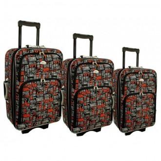 Дорожный чемодан сумка 773 набор 3 штуки kolor 10. Киев. фото 1