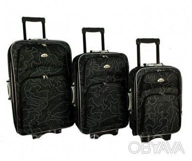 Дорожный чемодан сумка 773 набор 3 штуки Wzor  ХАРАКТЕРИСТИКА:  Корпус оснащ. Киев, Киевская область. фото 1