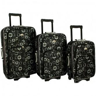Дорожный чемодан сумка 773 набор 3 штуки Matrix. Киев. фото 1