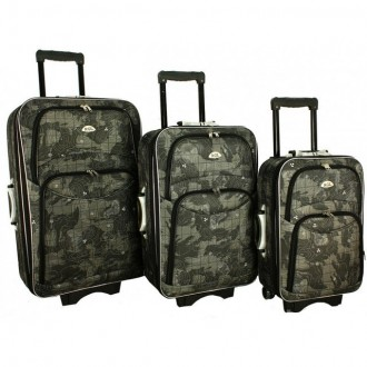 Дорожный чемодан сумка 773 набор 3 штуки mapa. Киев. фото 1