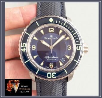 BLANCPAIN - Fifty Fathoms Automatic Blue Dial Titanium 45 mm Special Edition (R. Киев, Киевская область. фото 3