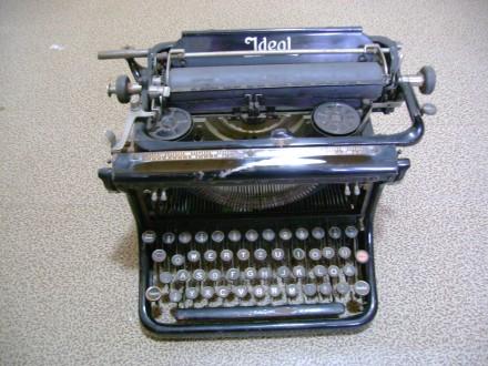 Печатная машинка (Англия). Новая Каховка. фото 1