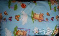 Подушка облегченная детская бязь 40х60. Днепр. фото 1