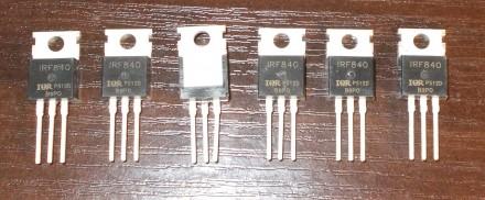 Транзистор IRF840. Бердянськ. фото 1