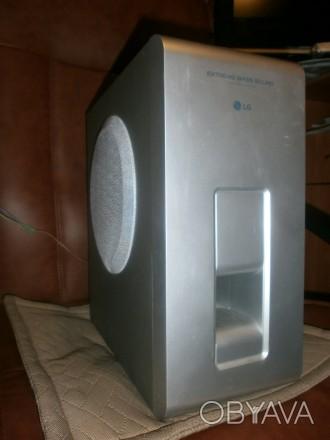Продам рабочий пассивный сабвуфер LG LHS-D6230W 8 ом, 80 Вт Размеры: 35 х 32 х. Черкассы, Черкасская область. фото 1