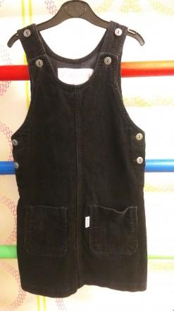 Вельветовый сарафан для девочки dim jeans, на рост 116 см.. Київ. фото 1